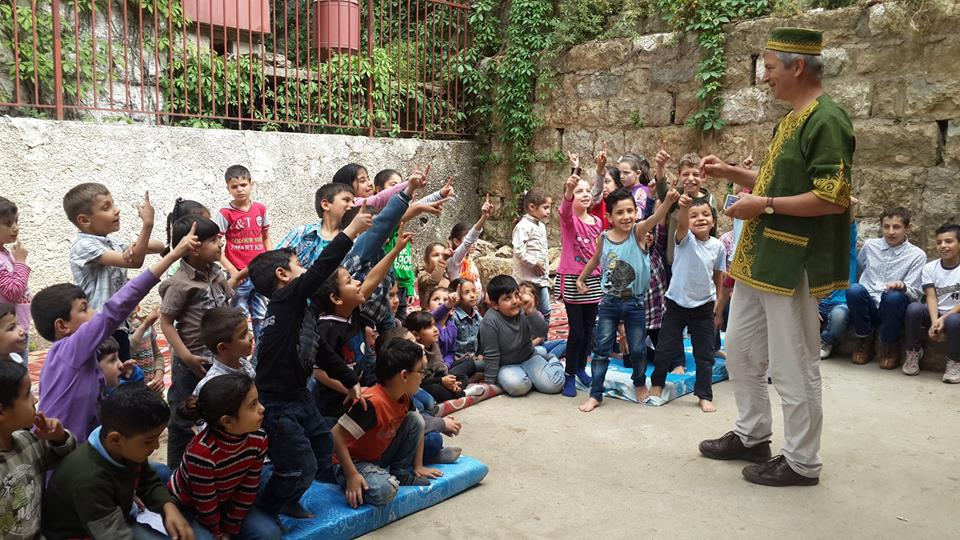 Aley School for Syrian refugees