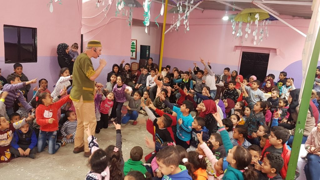 Solidarity - Ain Helwe Palestinian camp, Sidon