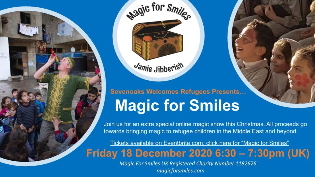 Online Family Magic Fundraiser 18 Dec